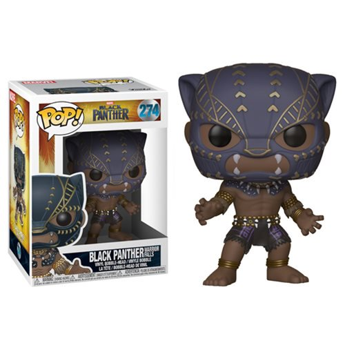 "Funko POP! Black Panther ""Warrior Falls"" Vinyl Figure - Spoke Art"