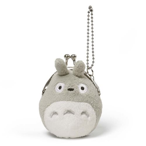 """My Neighbor Totoro"" Grey Totoro Mini Coin Purse - Spoke Art"