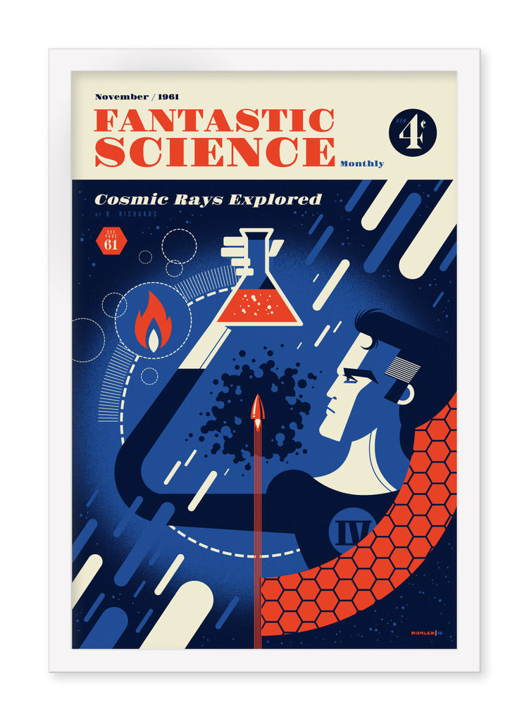 "Tom Whalen - ""Fantastic Science"" - Spoke Art"