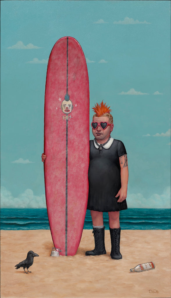 "Bob Dob - ""Fat Mike Don't Surf!"" - Spoke Art"
