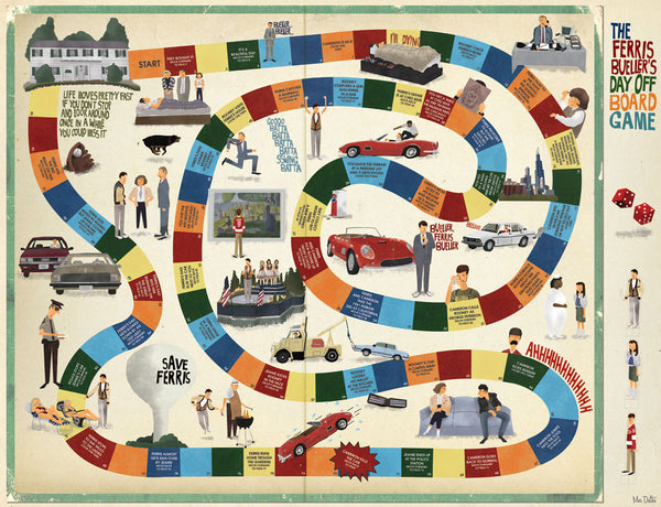 "Max Dalton - ""Ferris Bueller's Day Off"" Board Game"