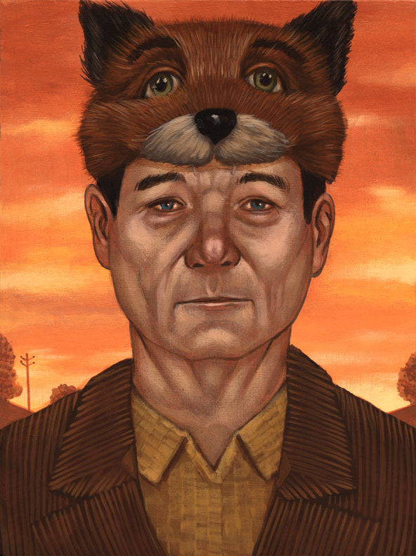"Casey Weldon - ""Fox Murray"" - Spoke Art"
