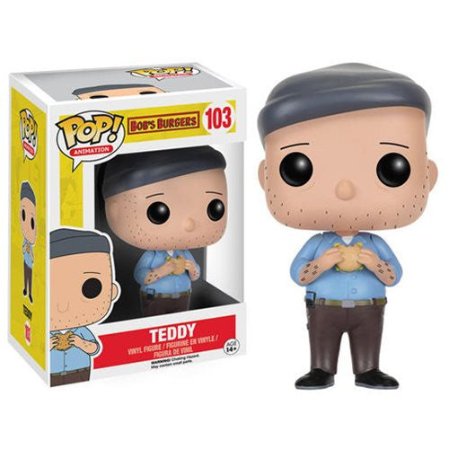 "Funko POP Animation Bob's Burgers ""Teddy"" Action Figure"