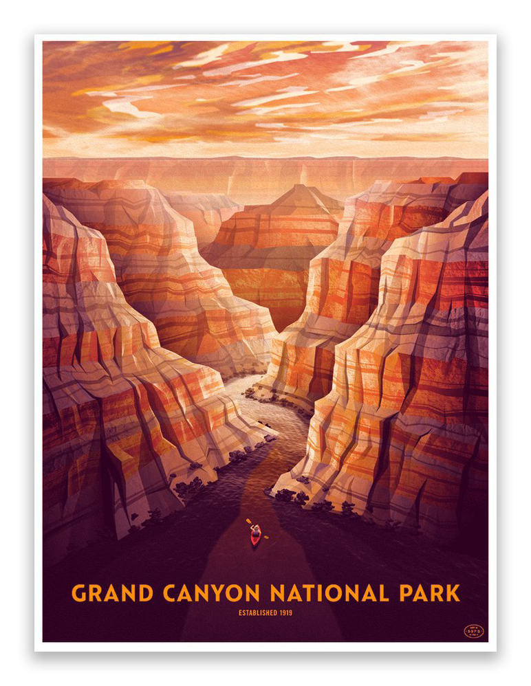 "DKNG - ""Grand Canyon National Park"" - Spoke Art"