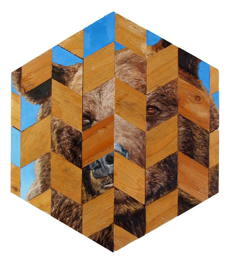 "Peter Adamyan - ""Grizzly Bear"" - Spoke Art"