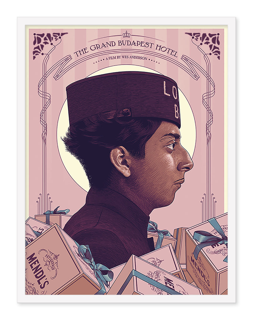 "Guillaume Morellec - ""The Grand Budapest Hotel"" - Spoke Art"