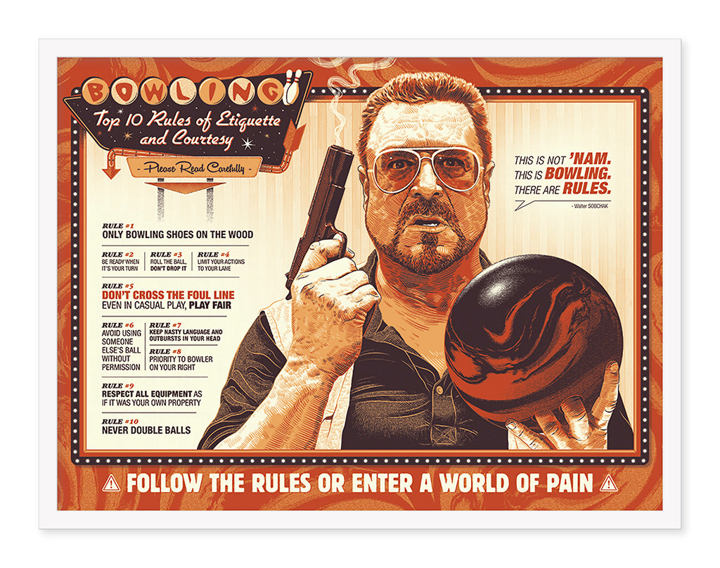 "Guillaume Morellec - ""The Big Lebowski: Bowling Rules"""