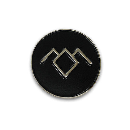 The Black Lodge Enamel Pin