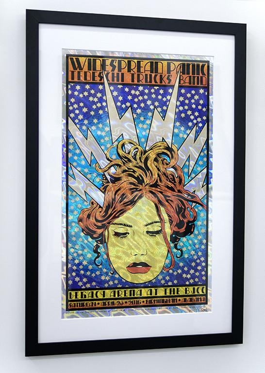 "Chuck Sperry - ""Widespread Panic 'Electra'"" - Spoke Art"