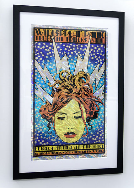 "Chuck Sperry - ""Widespread Panic, Electra"" (lava foil edition)"
