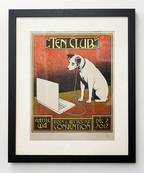 Chuck Sperry - Ten Club Rock & Art Poster Convention