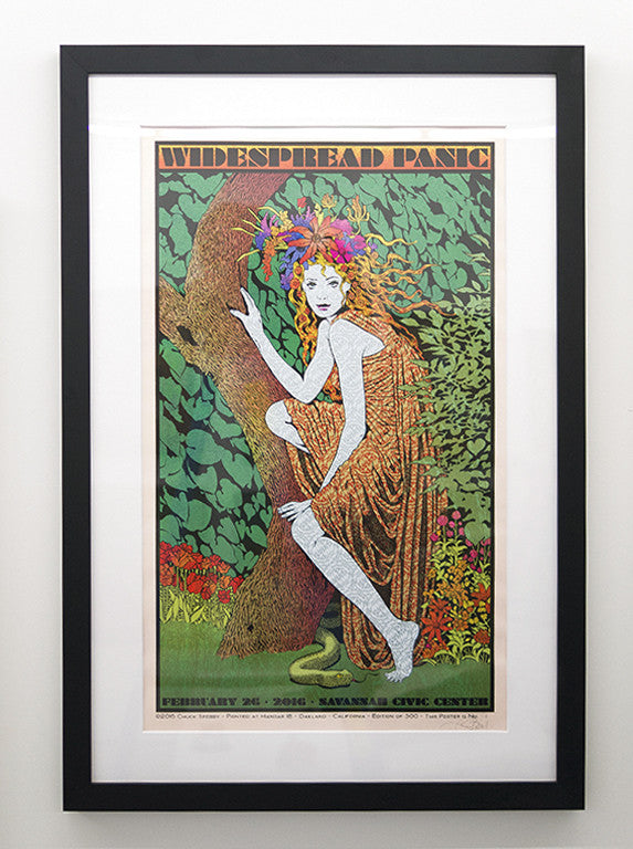 "Chuck Sperry - ""Widespread Panic, Savannah"" (rose shimmer edition)"