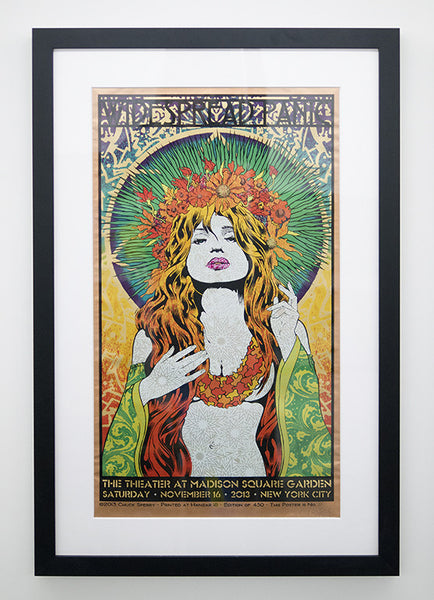 "Chuck Sperry - ""Widespread Panic, The Theater at Madison Square Garden, NYC"" (copper edition)"