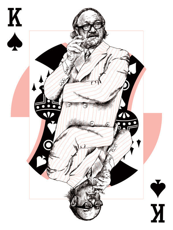 "Oliver Barrett - ""House of Cards - Royal of Spades"""