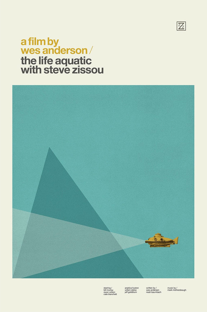 "Concepción Studios - ""The Life Aquatic with Steve Zissou"" - Spoke Art"