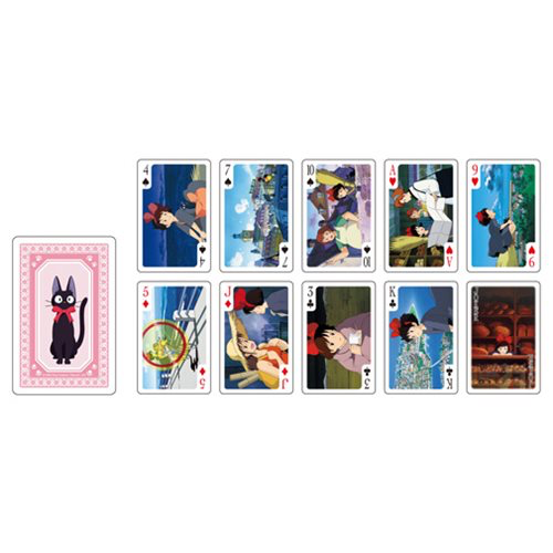 """Kiki's Delivery Service"" Movie Scenes Playing Cards"