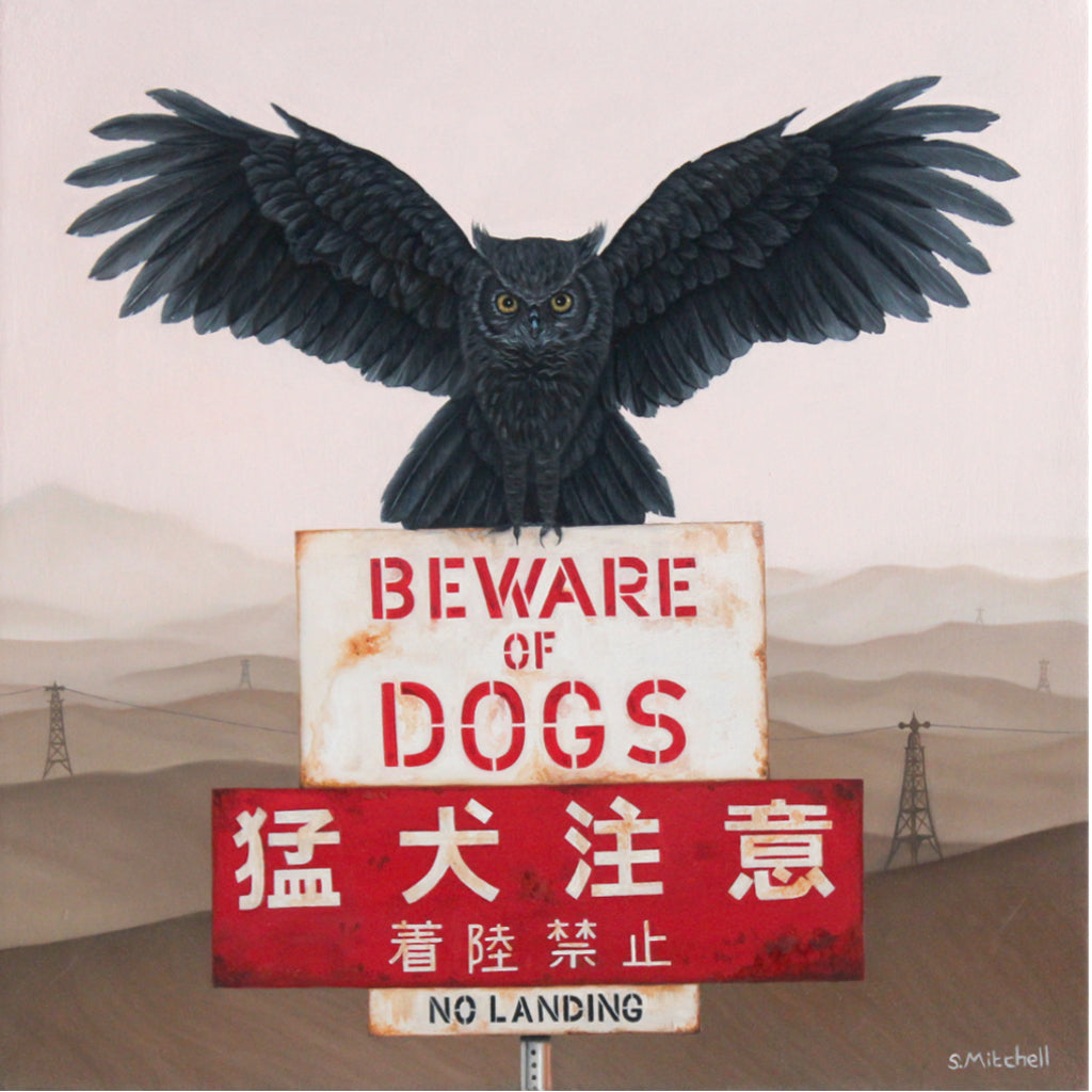 "Scott Mitchell - ""Beware of Dogs"""