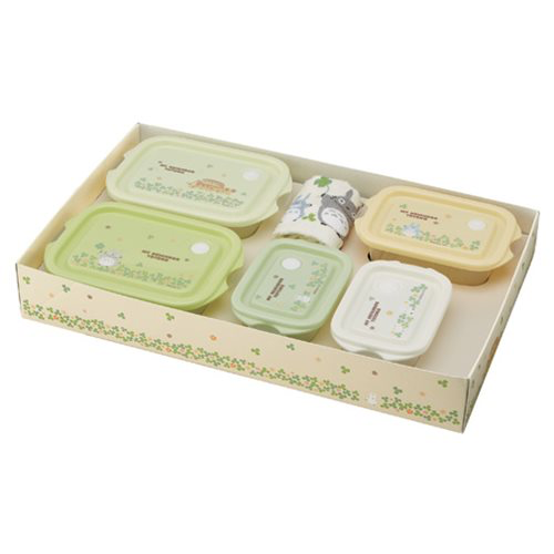 """My Neighbor Totoro"" Totoro Clovers 6-Piece Lunch Gift Set"