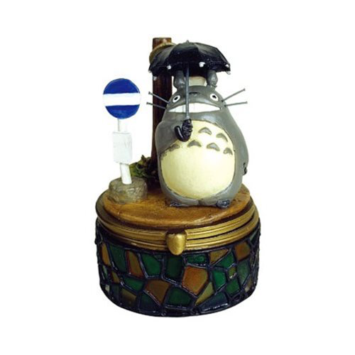 """My Neighbor Totoro"" Totoro at Bus Stop Jewelry Box"