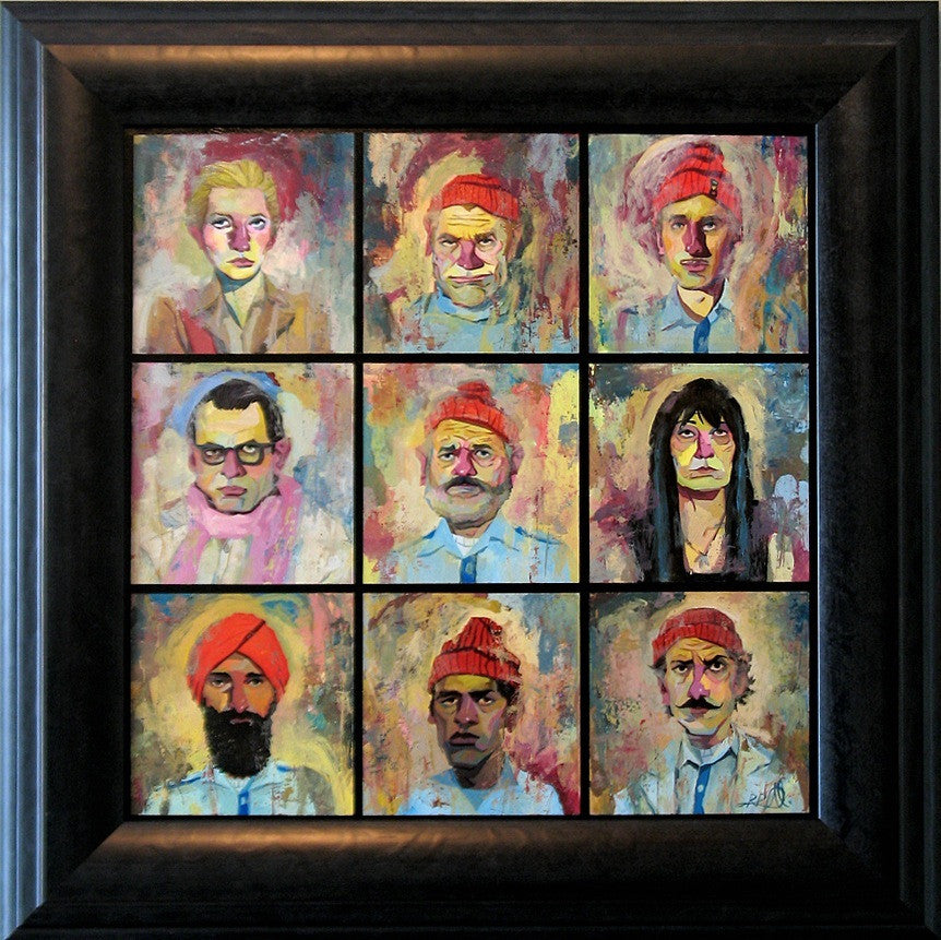 "Rich Pellegrino - ""Team Zissou"" - Spoke Art"