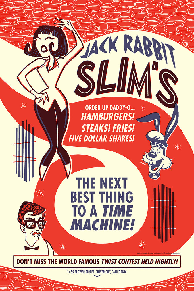 "Ian Glaubinger - ""Jack Rabbit Slims"" - Spoke Art"