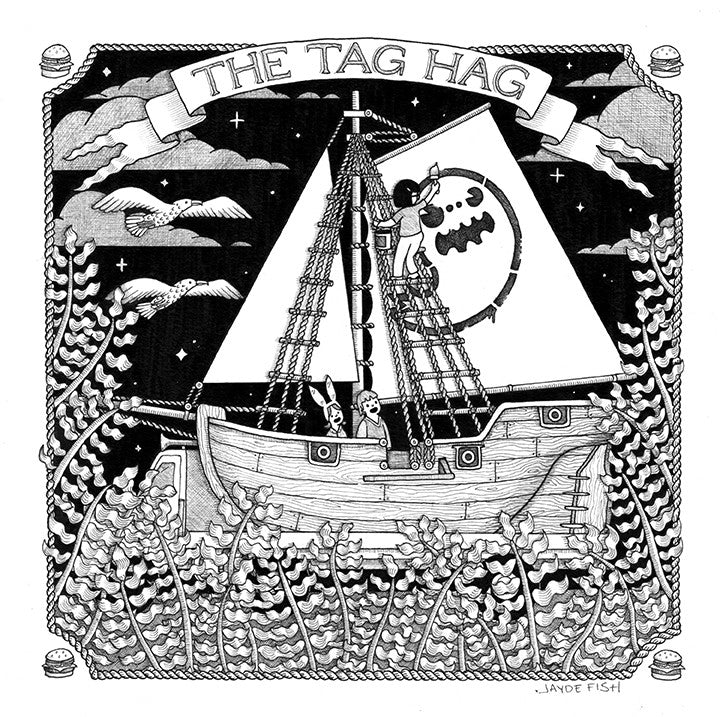 "Jayde Fish - ""The Tag Hag"""