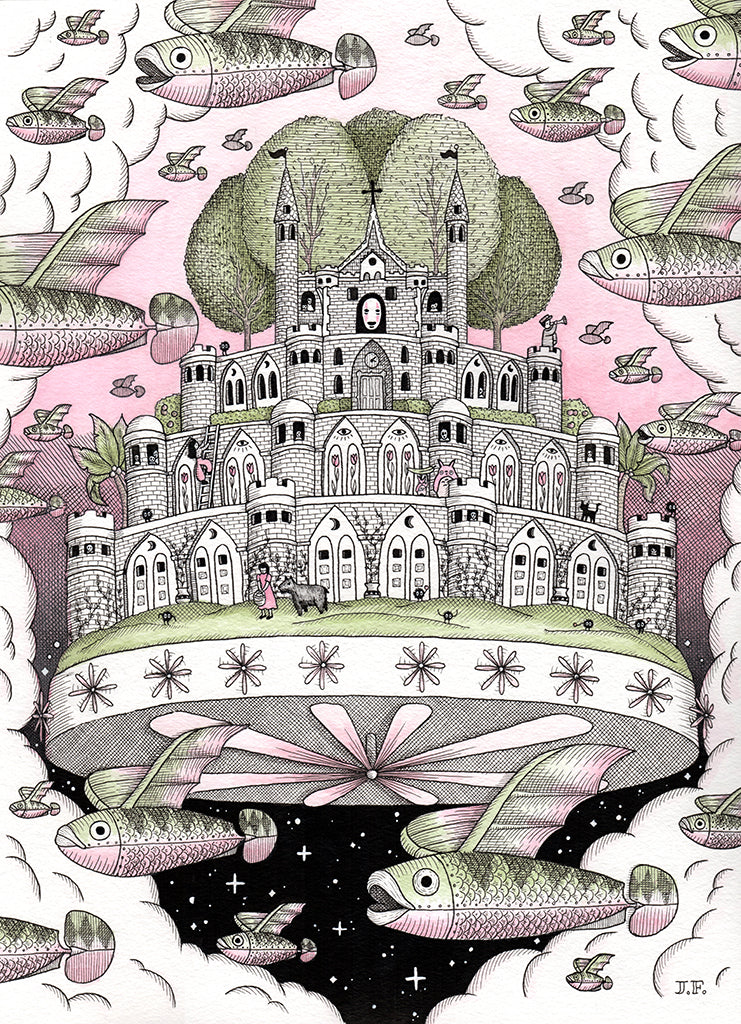 "Jayde Fish  - ""Fish's Flying Castle"""
