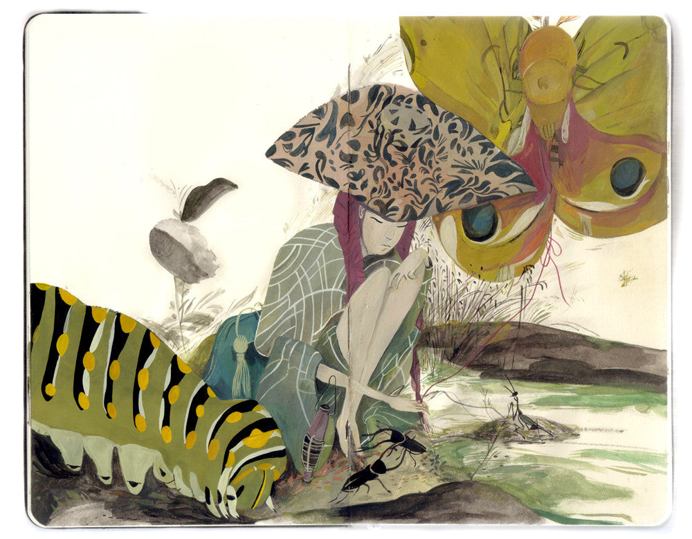 "Jon Lau - ""The Princess who Loved Insects"""