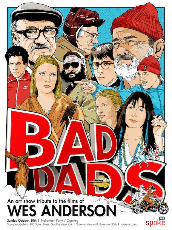 "Joshua Budich ""Bad Dads"" - Spoke Art"