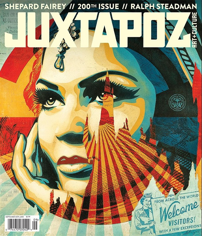 Juxtapoz #200 - Spoke Art