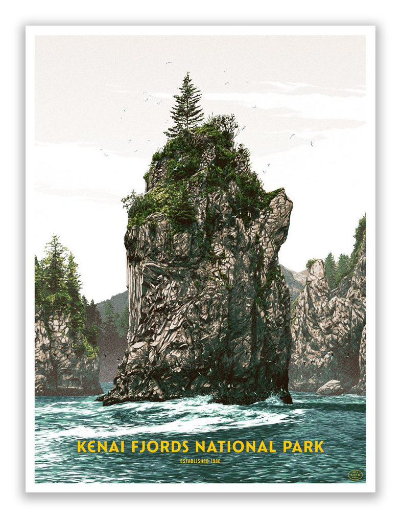 "Matthew Woodson - ""Kenai Fjords National Park"" - Spoke Art"