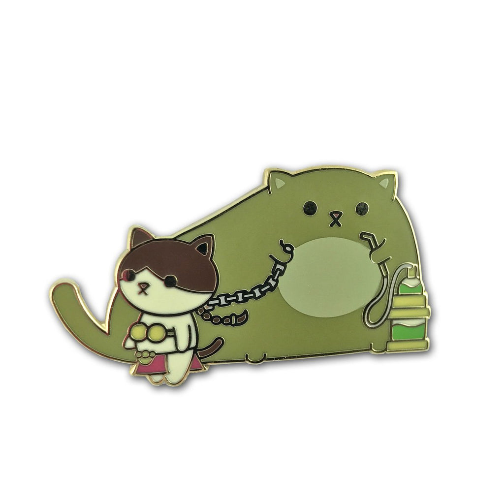 Kitty Cosplay - Jabba & Slave Leia Enamel Pin