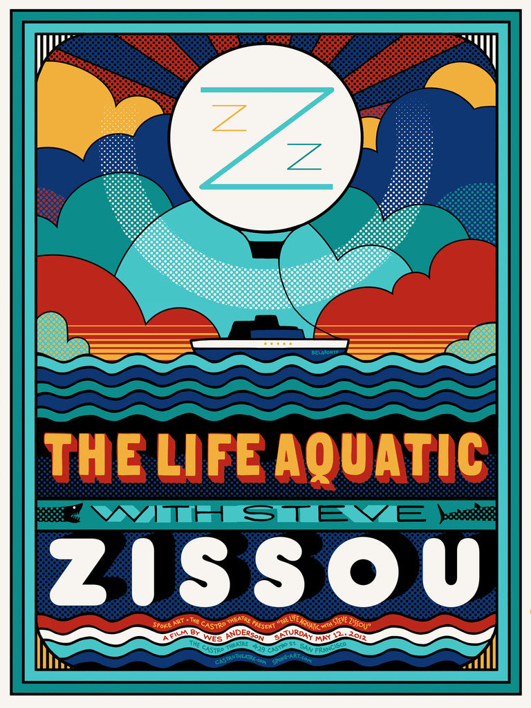 "Sam Smith - ""The Life Aquatic"" - Spoke Art"