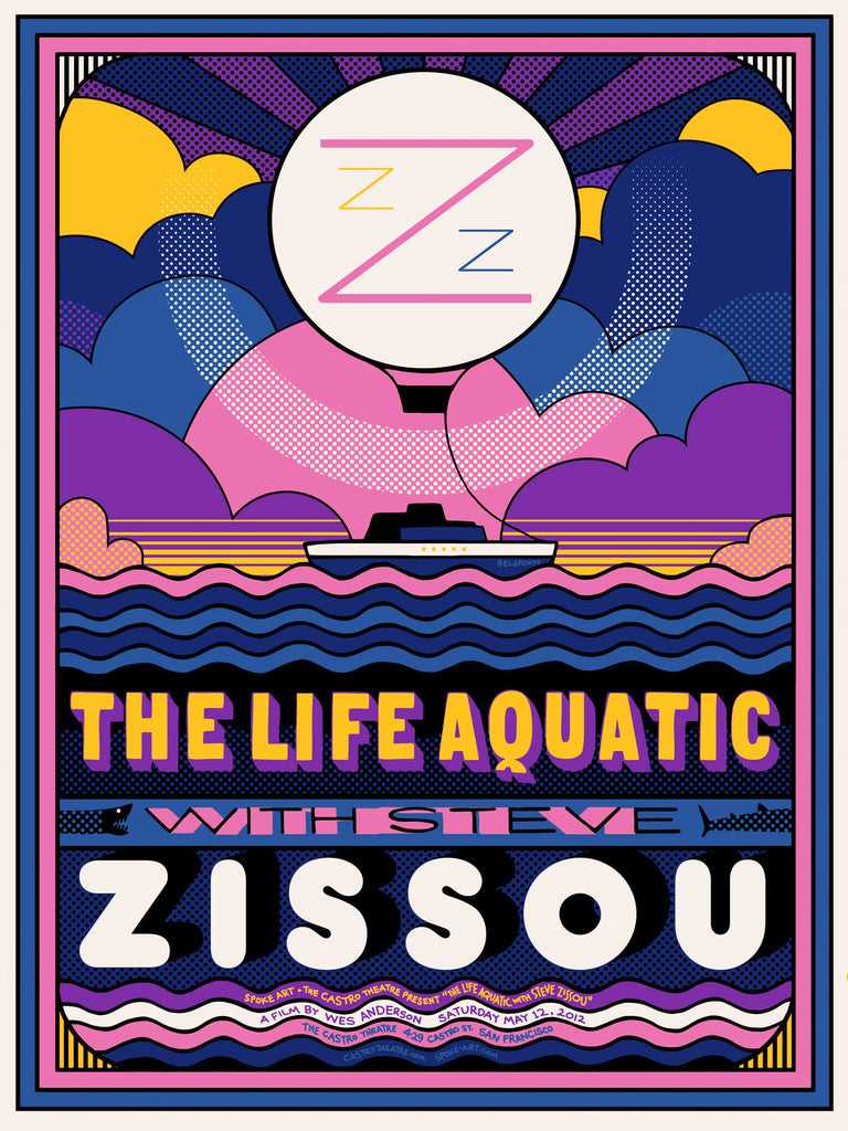 "Sam Smith - ""The Life Aquatic"" (Variant) - Spoke Art"