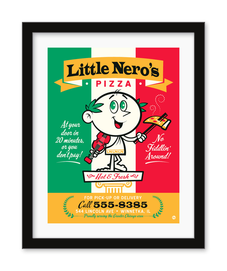"Dave Perillo - ""Little Nero's Pizza"""