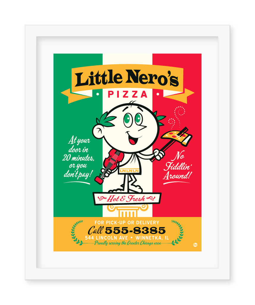 "Dave Perillo - ""Little Nero's Pizza"" - Spoke Art"