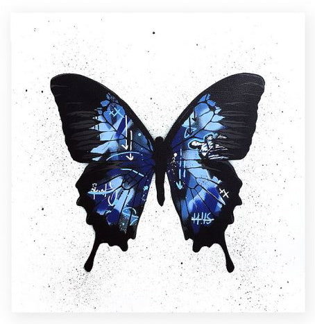 "Martin Whatson - ""Butterfly (Blue)"""