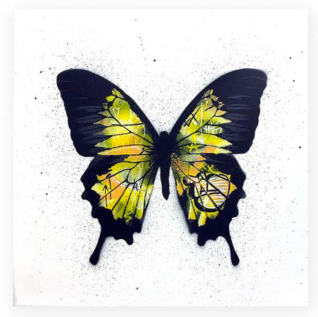 "Martin Whatson - ""Butterfly (Yellow)"""