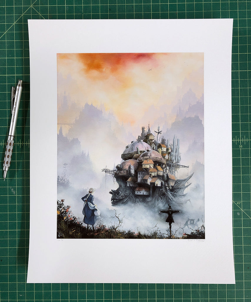 "Brian Mashburn - ""Starry Dynamo in the Machinery of Night"" (print)"