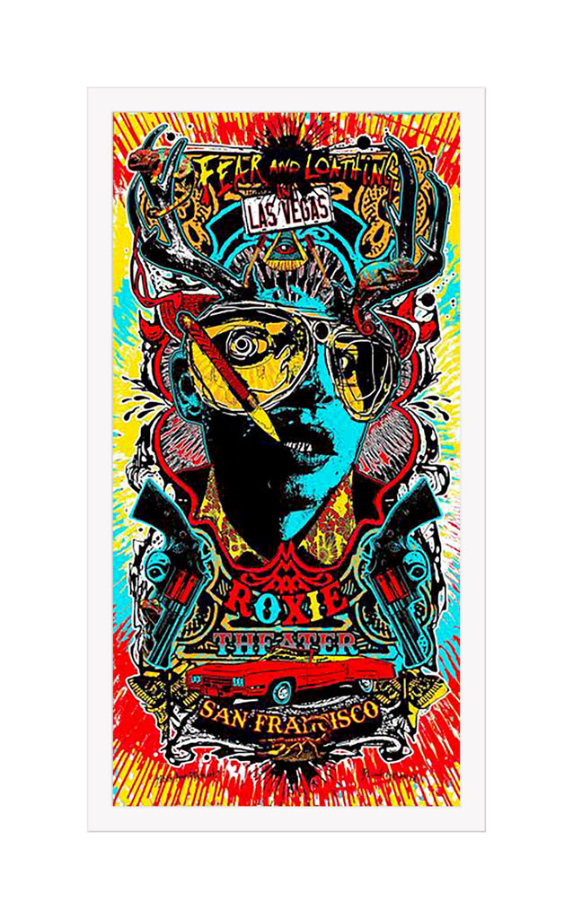 "Blunt Graffix - ""Fear and Loathing in Las Vegas"" - Spoke Art"