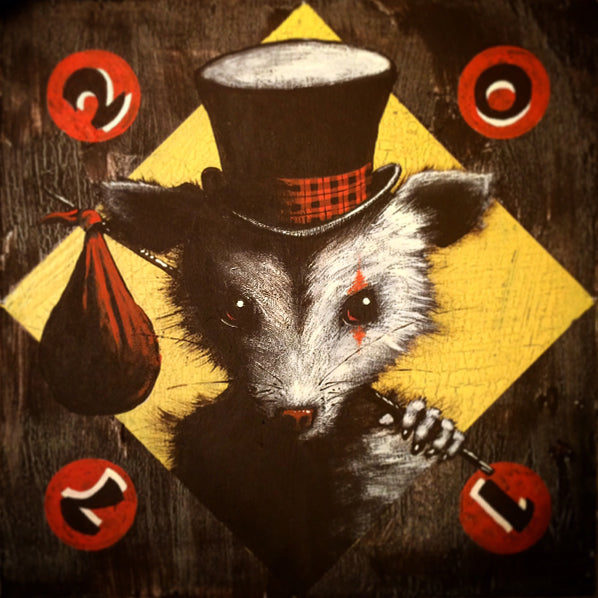 "Mike Shine - ""Hobo Carny Possum Nemiah"" - Spoke Art"