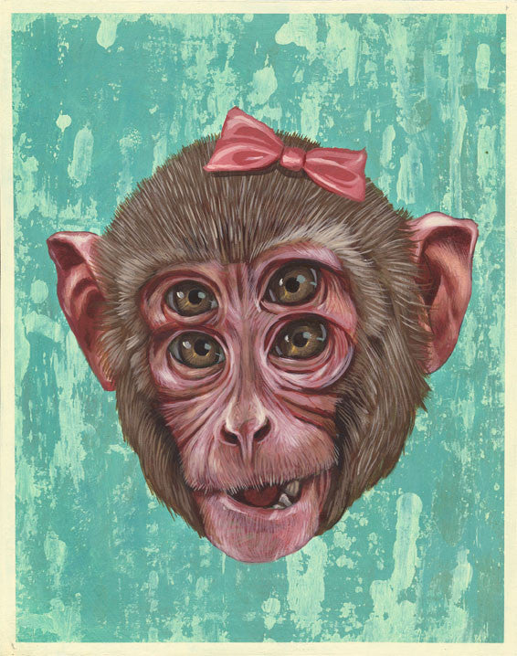 "Casey Weldon - ""Monkey Monkey 4"" - Spoke Art"
