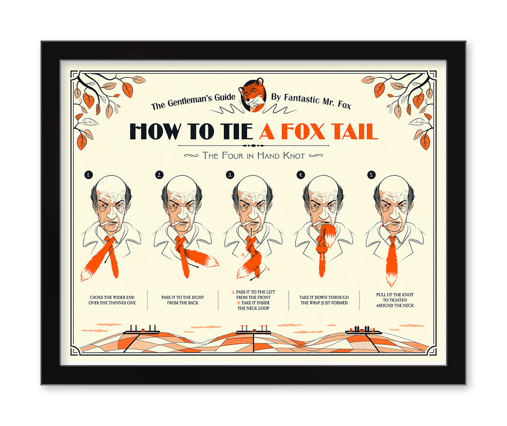 "Guillaume Morellec - ""How To Tie A Fox Tail"" - Spoke Art"