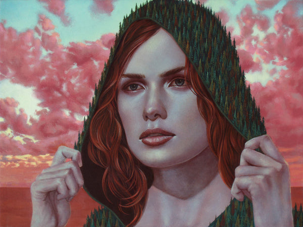 "Casey Weldon - ""Mt. Hood (Summer)"""