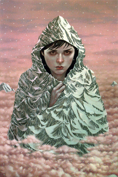 "Casey Weldon - ""Mt. Hood (Winter)"""