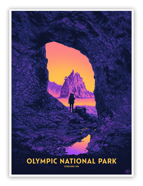 "Daniel Danger - ""Olympic National Park"" - Spoke Art"