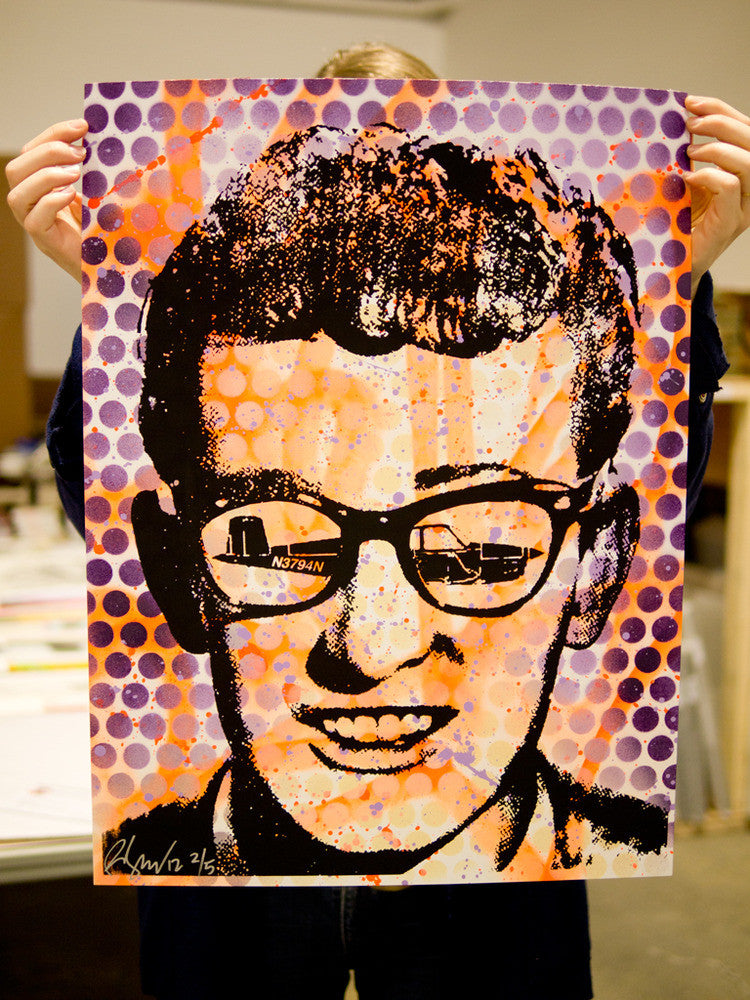 "Rene Gagnon - ""Buddy Holly"" - Spoke Art"
