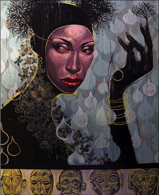 "Serge Gay Jr. - ""Color me Black"" - Spoke Art"