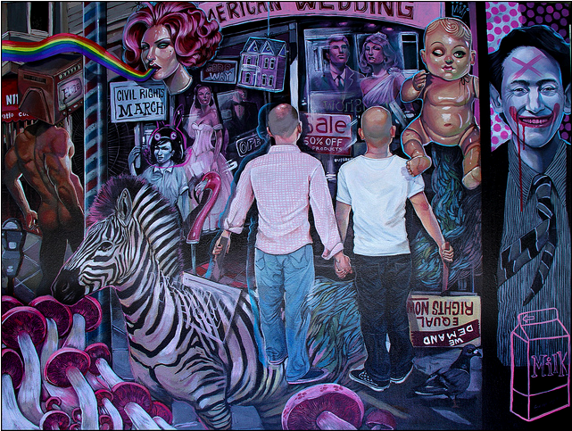"Serge Gay Jr. - ""Pink Party"" - Spoke Art"