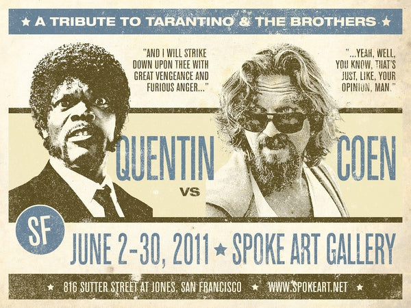 "Greg Gossel -""Quentin vs. Coen Round Two"""